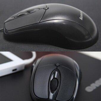 2561 Lenovo Mouse USB รุ่น LX-02 (สีดำ)