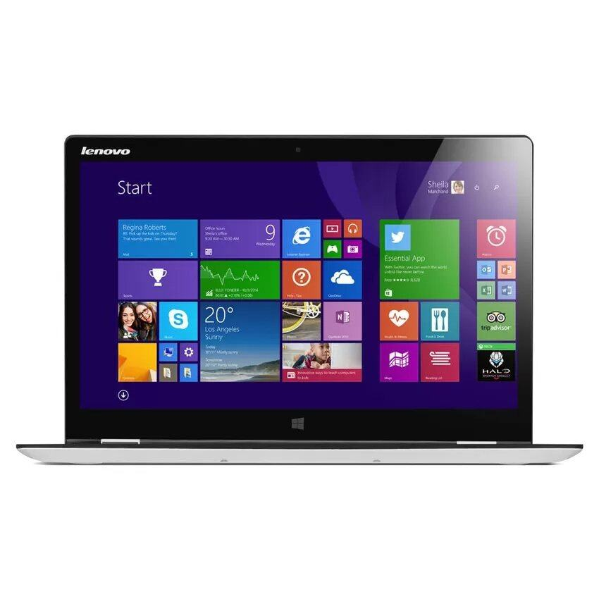 Lenovo Notebook Yoga 500 รุ่น 80N400H9TA 14' Touch i7-5500U8GB1TBN16S-GTWin10