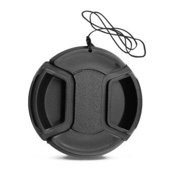 Lens Cap No Logo ฝาปิดหน้าเลนส์ ไม่มีโลโก้ ขนาด 62 mm.
