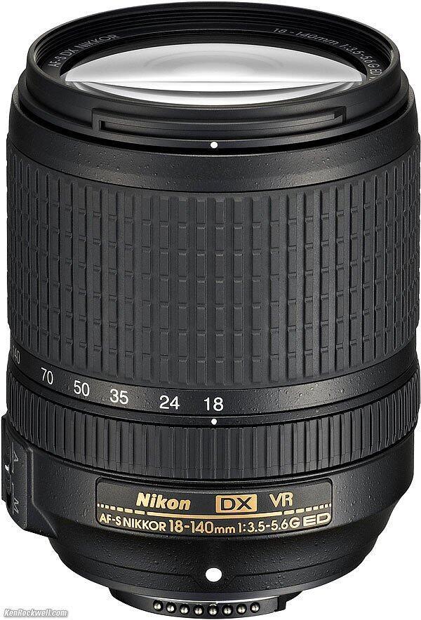Lens Nikon 18-140 VR