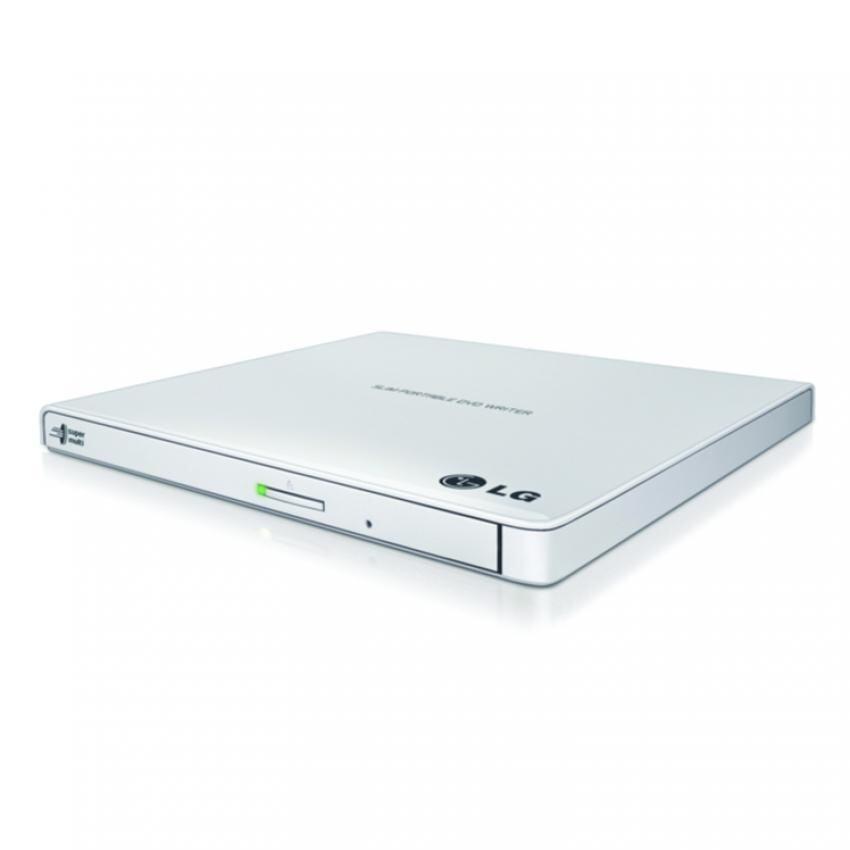 LG EXTERNAL DVD RW SLIM WHITE (LG-DVD RW WHITE)