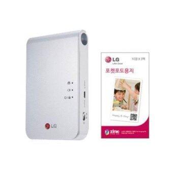 เปรียบเทียบราคา LG Pocket Photo เครื่องพิมพ์ภาพถ่ายบลูทูธไร้หมึก รุ่น PD239