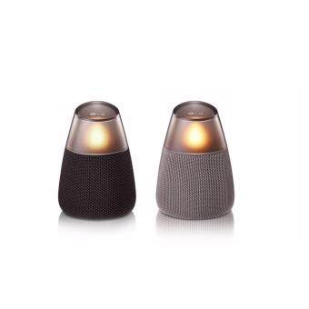 LG Wireless Portable Bluetooth Speaker PH3 Candle Bluetooth speaker 360 sound 10 hours play (Aux)microUSB 5 colors lighting - intl