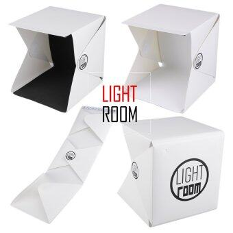 Light Room กล่องถ่ายรูปสินค้า พร้อมไฟ LED พับเก็บง่าย พกพาสะดวก Light Room Mini Portable Foldable Photography Studio with LED Light (image 2)