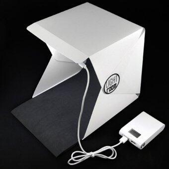 Light Room Mini Portable Foldable Photography Studio with LED Lightกล่องถ่ายภาพขนาดเล็ก พับได้ พร้อมไฟ LED