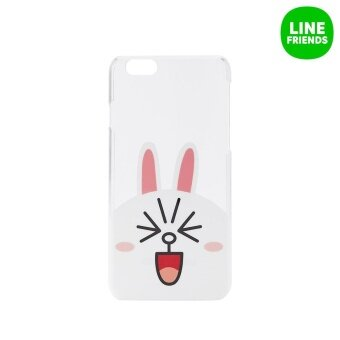 LINE FRIENDS IPHONE 6/6S IML HARD CASE_CONY(TRANSPARENT)