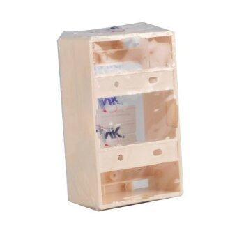 LINK กล่องพลาสติกติดผนังลอย Wall Box (US2015) Original Wall Box 2x4ลึก 38mm.
