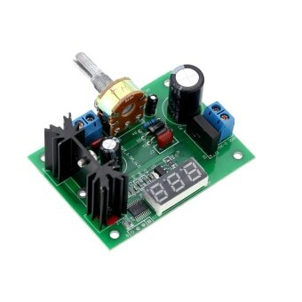 LM317 AC/DC Adjustable Voltage Regulator Step-down Power Supply Module with LED Display - intl