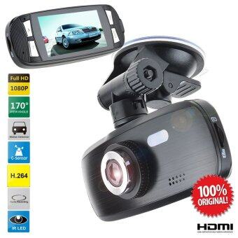LNW กล้องติดรถยนต์ Full HD WDR รุ่น G1W ชิพ NT96650 - สีดำ