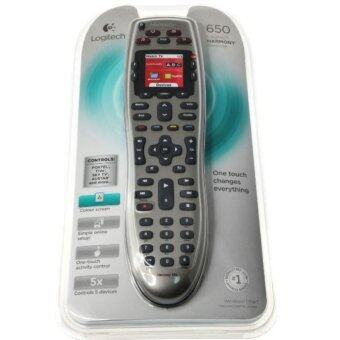 Harga Logitech Harmony 650 Color-Screen Universal Remote Control Supports6000+ brands - intl