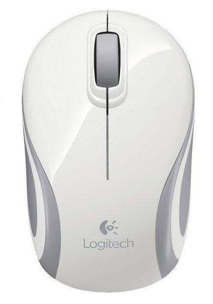 Logitech Mouse M187 - White
