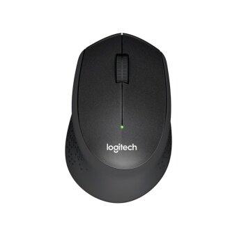 Logitech Wireless Mouse Silent Plus M331- Black สีดำ