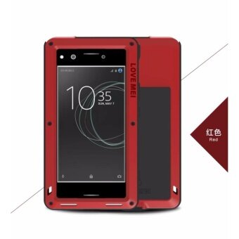 LOVEMEI for Sony Xperia XZ Premium Case Cover Extreme DropproofAluminum Metal Case for Xperia XZ Premium Dual Cover Shockproof -intl
