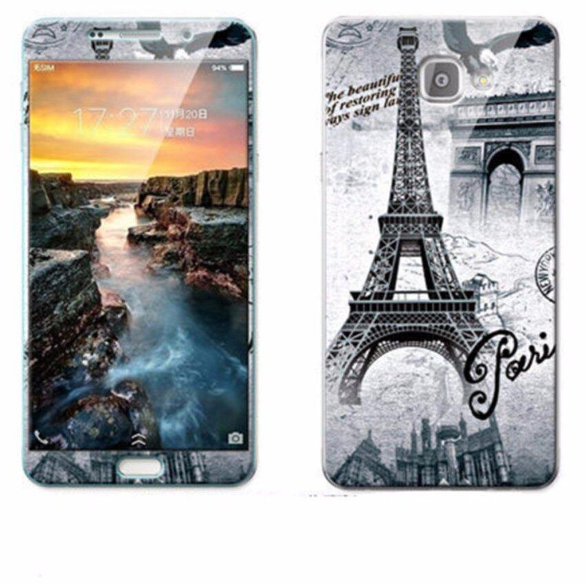 Luxury 3D Painting Front+Back Full Case Cover Color Tempered Glass Case For Samsung Galaxy A9 A9100 6.0 inch Screen Protector Film (Color-9) – intl ...