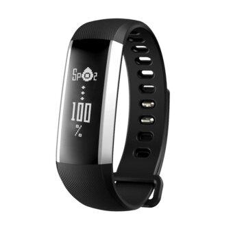 M2 Smart Heart Rate Blood Pressure Monitor Bluetooth Camera Fitness Tracker (Black) - intl