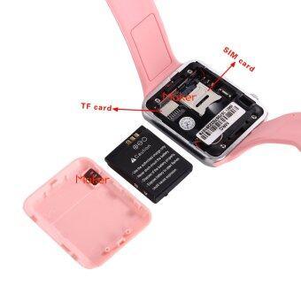Maker นาฬิกาโทรศัพท์ Bluetooth Smart Watch รุ่น A1 Phone watch (Pink) (image 4)