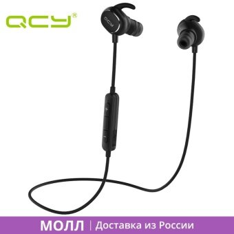 MALL QCY QY19 sports headphones bluetooth wireless headset IPX4sweatproof earphones for iphone ipad android yotaphone xiaomi -intl