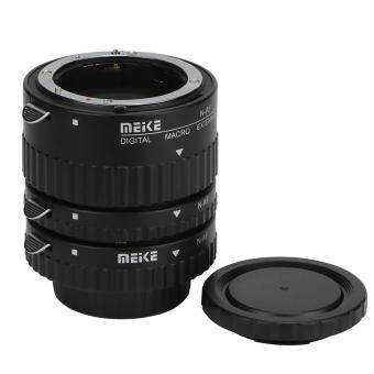Meike MK-N-AF1-B Auto Focus Confirm Macro Extension Tube for NikonD80 D90 D7000 D7100 D5000 D51000 D5200 D3200 Camera DSLR - intl