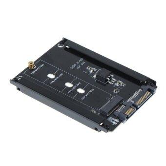 ต้องการขาย Metal Cased CY B+M Socket 2 M.2 NGFF (SATA) SSD to 2.5 SATA Adapter(Black) - intl