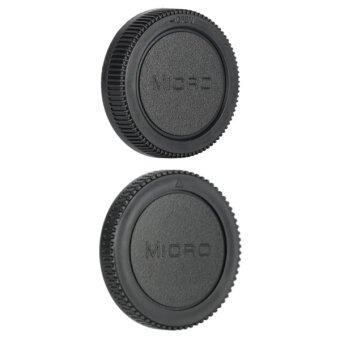 Micro 4/3 Rear Lens Cap ฝาปิดท้ายเลนส์ + Body Cap ฝาปิดบอดี้Olympus Panasonic MFT M4/3