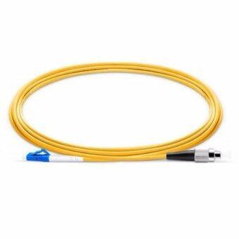 เสนอราคา MIcro Fiber สายแพทคอร์ด LC - FC/UPC Singlemode Simplex Patch Cordยาว 1.5 เมตร(Yellow)