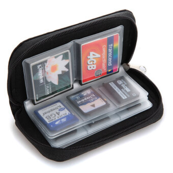 Micro SD Memory Card Storage Carrying Pouch Case Holder Wallet