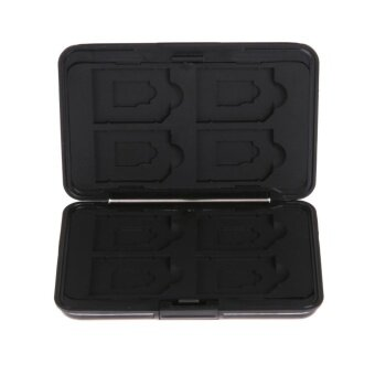 Micro SD SDXC Storage Holder Memory Card Case Protector(Black) -intl
