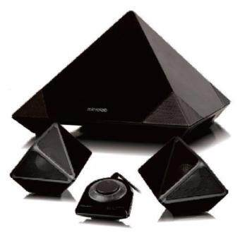 Microlab Speaker A6352 pyramid shaped (Black)