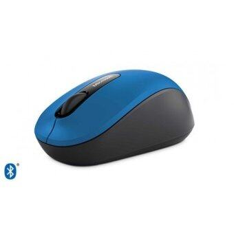 2561 Microsoft Bluetooth Mobile Mouse3600 เม้าบรูทูล4.0 (สีน้ำเงิน)