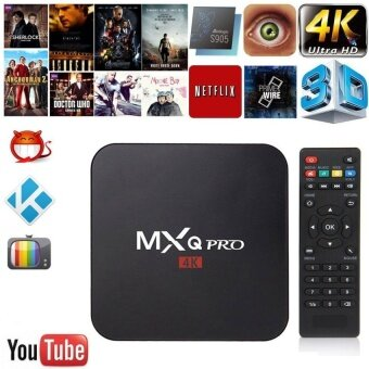 MiLu MXQ pro Smart TV Box Amlogic S905X Quad-core set top boxAndroid 6.0 kodi 1GB 8GB HD 1080P 4k Iptv Box HDMI Media Player - intl