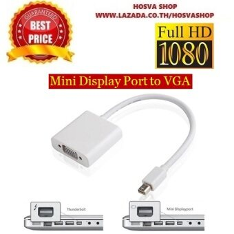 Mini Thunderbolt Mini Display Port To VGA สำหรับMacBook/Pro/Air/iMac และ Microsoft Surface