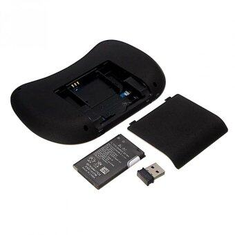 Mini Wireless Keyboard 2.4 Ghz Touchpad มีพิมพ์ภาษาไทยบนตัว สำหรับAndroid tv box , mini pc, windows ( สีดำ) (image 3)