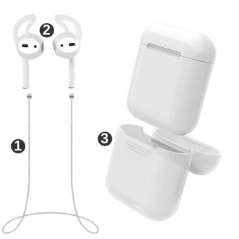 misodiko Pack of 3 Accessories for Apple AirPods Air Pods, SoftSilicone Protective Cover Pouch Case&