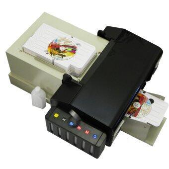 Modify ink เครื่องพิมพ์บัตร PVC และ CD อัตโนมัติ