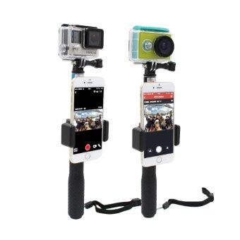 ตัวยึดมือถือ Monopod Phone Lock Clip Mount Gopro Hero 4 3 3+ GoPro