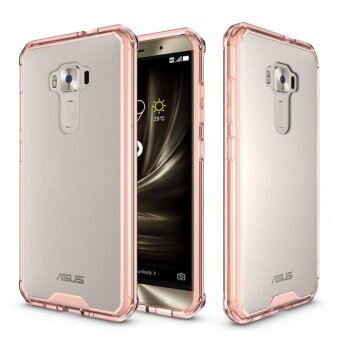 Mooncase for Asus Zenfone 3 ZE552KL Anti Shock Transparent BackCase Soft Thin TPU Case Cover Clear