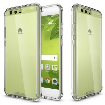 Mooncase Huawei P10 Plus Anti Shock Transparent Back Case Soft ThinTPU Case Cover White - intl