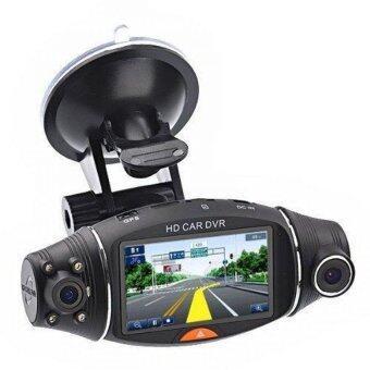 Morestech กล้องติดรถยนต์ 2 เลนส์ รุ่น DVR SC310 GP400 - Black