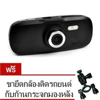 Morestech กล้องติดรถยนต์ DVR G1W NT96650 Full HD - Black (ฟรีขายึดกับก้านกระจกมองหลัง)
