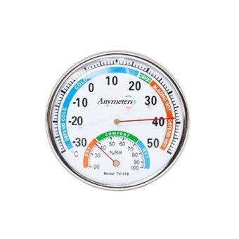 Morning เครื่องวัดอุณหภูมิและความชื้้น - สีขาว