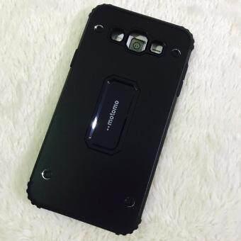 Motomo case J7 2015 สีดำ เคส เคสกันกระแทก โมโตโม samsung galaxy ซัมซุง เคสแข็ง ด้านในนิ่ม