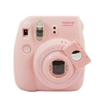 MULBA Camera Style Close-Up Lens for Instax Mini 7S Mini 8 CamerasSelf-Portrait Mirror (Pink)