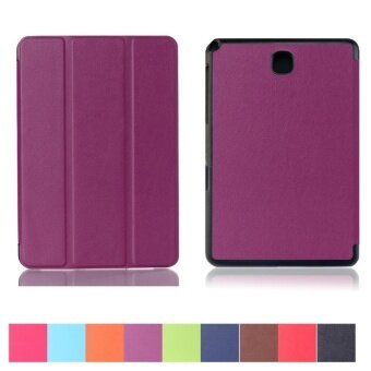 Multi-angle Stand Ultra Slim Lightweight Folding PU Leather FolioCase Stand Cover for Samsung Galaxy Tab A 8.0 / SM-T350 - intl