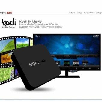 MXQ-4k ULTRA HD Android TV Box Support UHD 4K Dlna Miracast Enjoy 3D Movies Games Surffing On TV Quad core Cortex A7 กล่องทีวีดิจิตอล กล่องแปลงสัญญาทีวี ระบบแอนดรอย