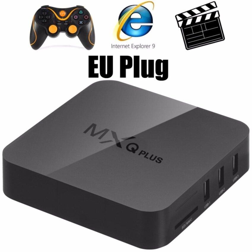MXQ Plus TV Box Amlogic S905 Quad Core Android 5.1 2.4G WiFi HD 2.0 1GB 8GB Google TV Player - intl