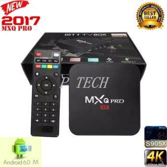 MXQ Pro Smart Box Android 6.0 Amlogic S905 4K Quad Core 64bit 1GB/8GB by Egreat