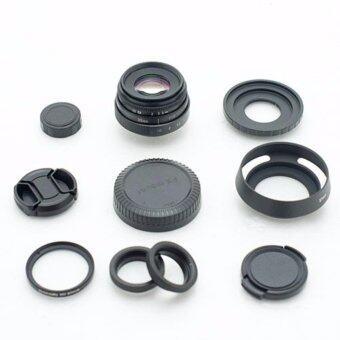 New Fujian 35mm f/1.6 CCTV Lens for Fujifilm X-Series (Black)
