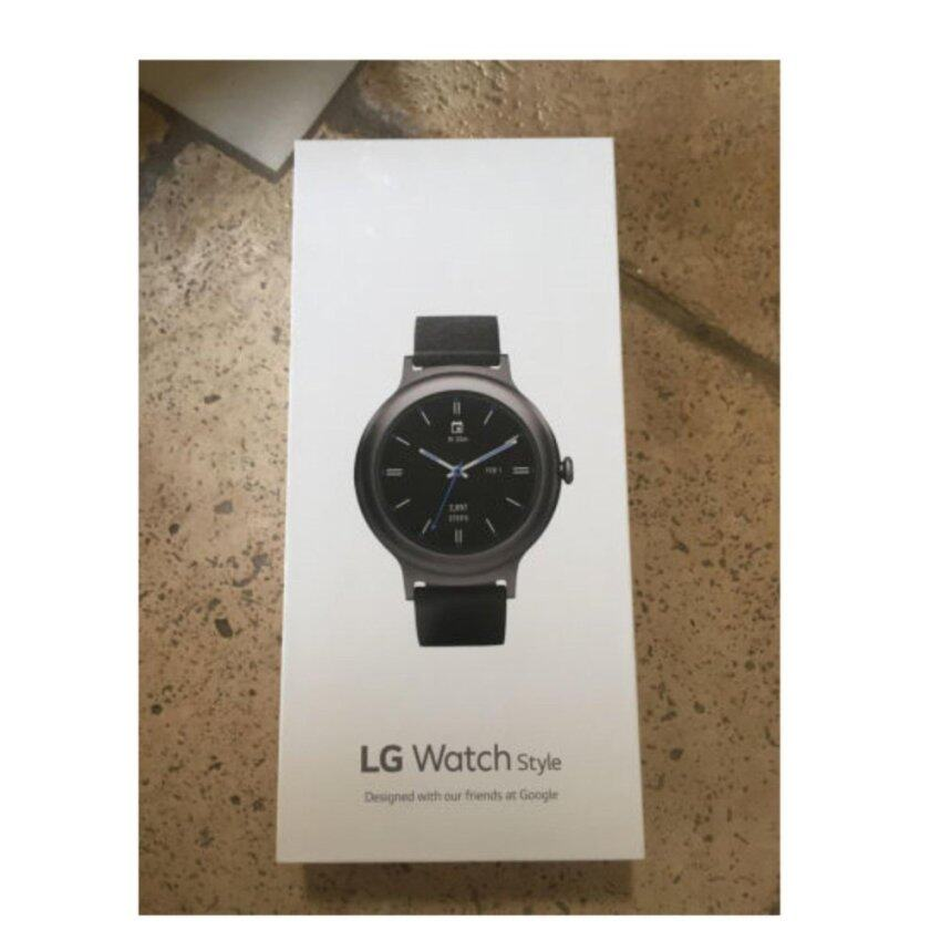 [NEW] LG Smart Watch W270 Watch Style WiFi Bluetooth Version LG-W270 Rose Gold / Titanium - intl