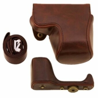 New PU Leather Camera Case Bag Cover for Sony A5100 - intl