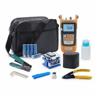 New Version 2017 Optical Power Meter SGV305 VFL + Tools kit Singlemode Multimode Media Converter FTTH Fiber Optic อุปกรณ์ทดสอบสายไฟเบอร์ และมีเดีย คอนเวอร์เตอร์ Visual Fault Locator Cable Cutter Stripper FC-6S Fiber Cleave Multifunction Equipment Tools